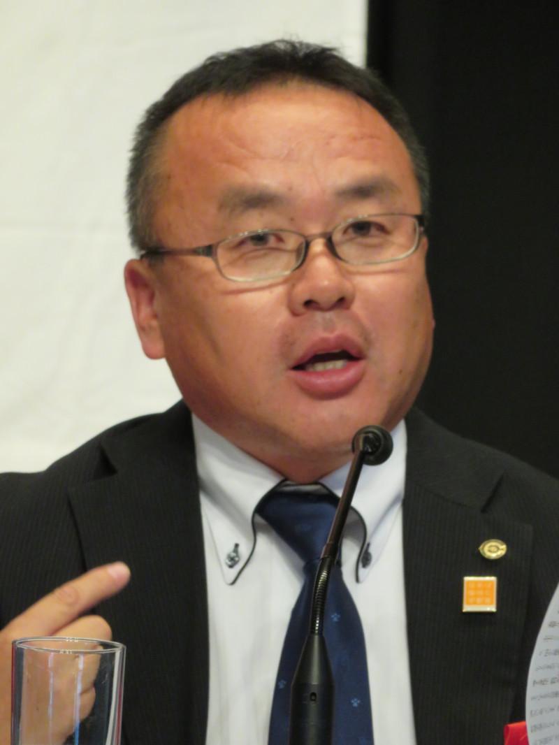 全日本教職員連盟の小林昭宏副委員長